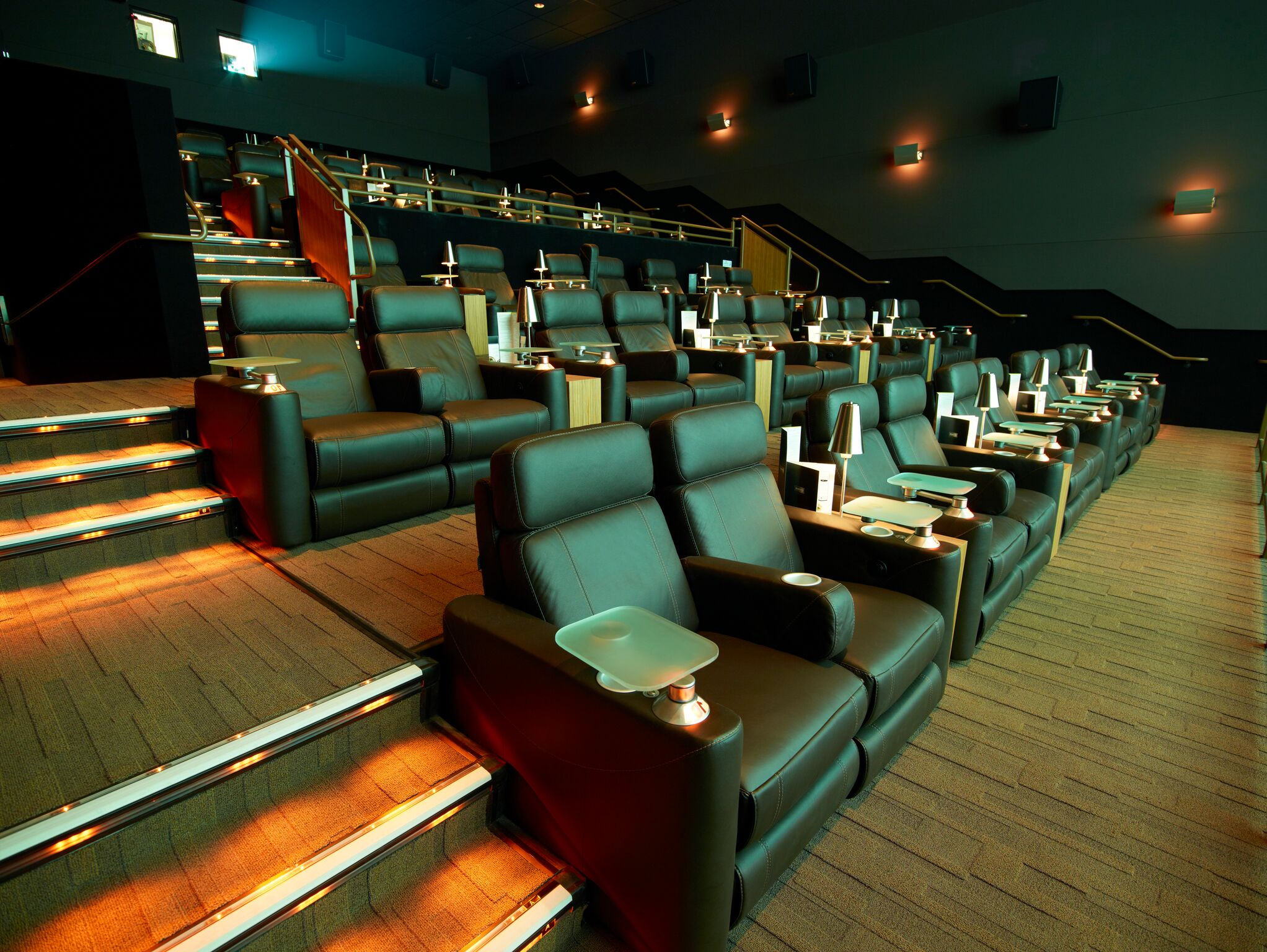 A Peek Inside Cinepolis luxury Dine-in Theater In Winter Garden