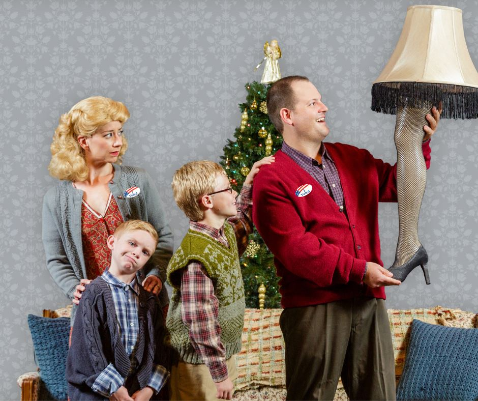 """""""A Christmas Story"""" Playing at the Garden Theatre"""